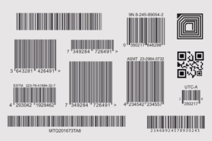 different kinds of barcode data